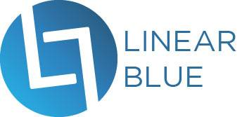 Linear Blue Logo
